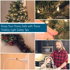 #Holiday Light #Safety #Tips!