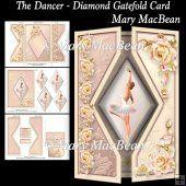 The Dancer - Diamond Gatefold Card