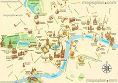 Easy London Map.30 Best Old Street Maps Of London Images In 2016 London Map