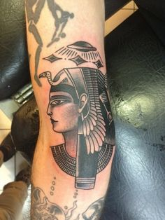 Traditional Egyptian tattoos
