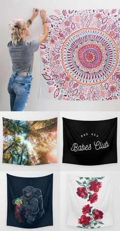 Shop Society6 Wall Tapestries!