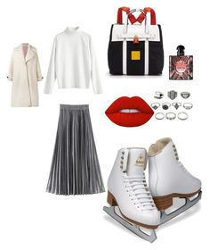 """""""Unbenannt #147"""" by bedriyee on Polyvore featuring Mode, Yves Saint Laurent, Olympia Le-Tan, Lime Crime, Henri Bendel und iceskatingoutfit"""