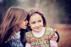 sisters sharing secrets