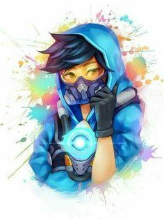 Overwatch Graffiti tracer