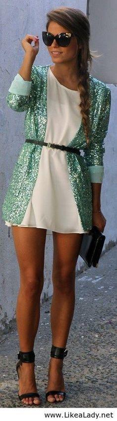 Glitter cardigan