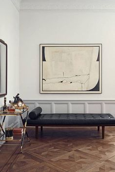 This Stunning Euro Apartment Keeps Its Classic, Goth Beauty #refinery29 http://www.refinery29.com/design-milk/13#slide-3 RELATED: This Space Is Modern And Homey...
