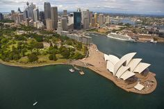 Sydney Opera House One of my most desired places. I would love to visit! City Life, Opera House, Sydney, Tourism, Destinations, To Go, Wanderlust, Australia, River