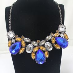 Elegant hollow flower necklace  ,shop at Costwe.com