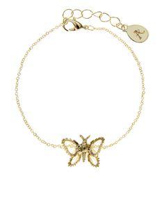 Wire Wrapped Butterfly Bracelet