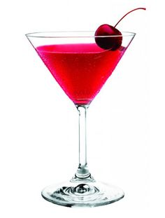 Cupids Broken Arrow  3 oz. Three Olives Mango Vodka  ½ oz. Triple Sec  1 oz. Cranberry juice  Splash of Fresh Lime Juice  Shake with ice and strain into a chilled martini glass. Garnish with a cherry.
