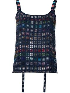 ROSIE ASSOULIN Embellished Tank Top. #rosieassoulin #cloth #top