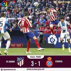 Hasil Pertandingan Atletico Madrid VS Espanyol 10 November 2019 November 2019, Madrid, Baseball Cards, Sports, Hs Sports, Excercise, Sport, Exercise