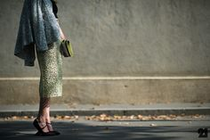 Helena Bordon wearing Christian Dior Pumps | PFW