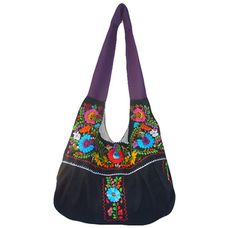 Mexican Embroidered Handbag