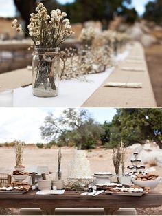 beautiful autumn wedding tablescape.