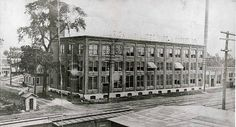 1903 Marion Insulated Wire & Rubber Co., located at the corner of 8th & Shunk St. in Marion, Indiana. Historic photo courtesy Marion Public Library Museum.