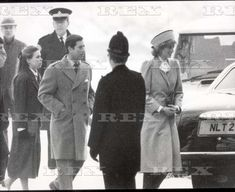 20th January 1985 Lady Sarah With The Prince And Princess Of Wales Walking To Church At Sandringham....royalty