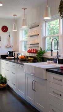 Sink and cabinet faces Mid Century Kitchen Design, Pictures, Remodel, Decor and Ideas - page 2