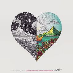 """visothkakvei B&W or Color? Happy Valentines Week. Get both B&W and Colored """"Journey of Love"""" Prints from our store link in bio today. 2018/02/12 22:10:25"""