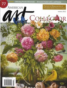 American Art Collector magazine Collecting florals and botranicals Washington DC