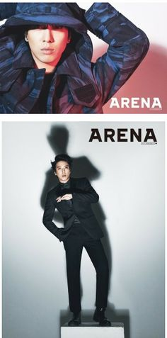YONGHWA ♡ #CNBLUE // ARENA HOMME DECEMBER ISSUE 2013