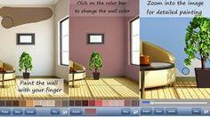 AdiccionWeb: Las mejores Apps para decorar tu casa: PaintingWalls