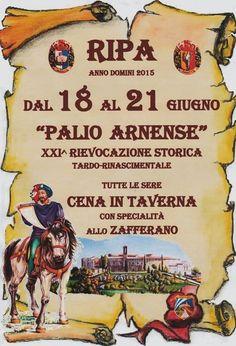 Palio Arnense 18/21 Giugno Ripa (Perugia) - Strada dei Vini del Cantico - Umbria