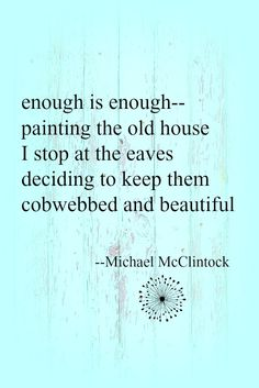 Tanka poem: enough is enough -- by Michael McClintock.