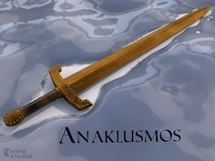 "Day 5: Favorite Weapon- Anaklusmos. Riptide. Percy's epic pen sword- gotta love that versatility! Plus the whole ""it reappears in his pocket"" thing? I am so down with that!"