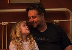 Father and Daughter - @russellcrowe and @KylieAnneRogers in #FathersAndDaughters #padriefiglie  Gabriele Muccino