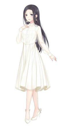 Anime Girl Dress, Manga Girl, Anime Art Girl, Anime Oc, Kawaii Anime, Manga Anime, Female Characters, Anime Characters, Fille Anime Cool