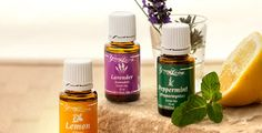 68 Ways to Use Essential Oils for Beginner': Lavender, Lemon, Peppermint and Thieves