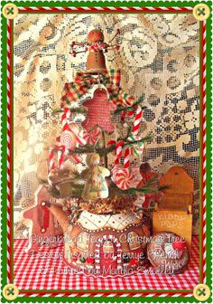E Pattern - Gingerbread Christmas Tree Teapot and Ornaments. $5,00, via Etsy.