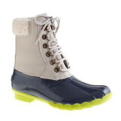 Sperry Top-Sider® for J.Crew leather shearwater boots - boots - Women's shoes - J.Crew