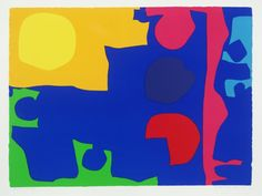 Patrick Heron 'Eight Including Ultramarine : 1971', 1971 © Estate of Patrick Heron. All Rights Reserved, DACS 2016