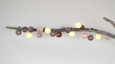 Cotton Ball Lights Beton | ClassHome