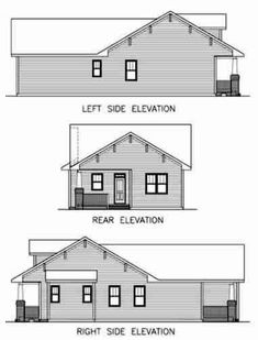 Residential Elevation Drawings Google Search Misc