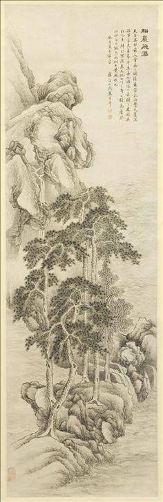 Zhu Henian  1760 (Taizhou) - 1834  Daté 1813  Encre sur papier