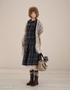 Cute dress, shawl and bag