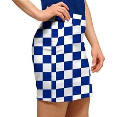 Womens Derby Chex Made to Order Skirts or Skorts by Loudmouth Golf.  Buy it @ ReadyGolf.com