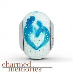 cd25743f6 Charmed Memories® Mother/Child Glass Charm Sterling Silver - Another bead  for my bracelet.