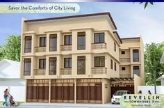 Move-in to Revellin Townhomes II now and enjoy a relaxed atmosphere and be delighted with extended family bonding. Located in Santa Ana, Manila very near to City Living, Makati, Manila, Townhouse, Multi Story Building, The Unit, San, Mansions, Elegant