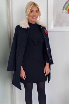 Holly Willoughby This Morning outfit: Phillip Schofield's ITV co-star shocks and delights fans in SALE Very coat Holly Willoughby This Morning, Holly Willoughby Style, Morning Dress, Sunday Morning, Nice Outfits, Work Outfits, Holly Willoughby Instagram, Work Fashion, Fashion Ideas