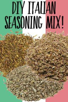 Homemade Italian Seasoning ...this is so easy!!