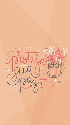 #BomDia Lettering Tutorial, Lettering Design, Hand Lettering, Quotes Lockscreen, Meant To Be Quotes, Motivational Phrases, Inspirational Wallpapers, Instagram Blog, Write It Down