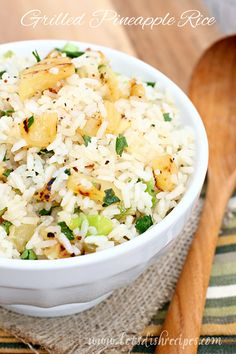 Rice is pretty much a side dish staple at my house. It goes well with almost anything, and more importantly, I know my kids ...