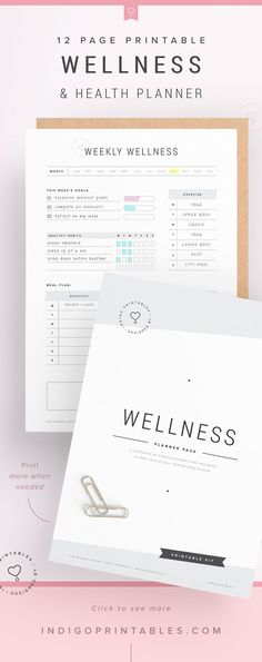 Wellness Planner Self Care Planner Wellbeing Planner Fitness Planner Digital Planner Weekly Wellness Planner Mood Tracker 12 Week Planner Template, Planner Inserts, Planner Pages, Weekly Planner, Printable Planner, Planner Ideas, Organisation Ideas Planners, Exam Planner, Diet Planner