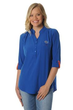 The Florida Gators Roll-Up Tunic is perfect for work and play!