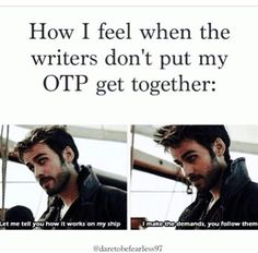 Yees, and I love how this is from ouat and I'm fan of it