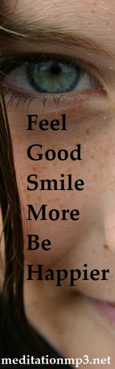 Want to Feel Good, Smile More, Be Happier? Get the Feel Good mp3 from meditationmp3.net